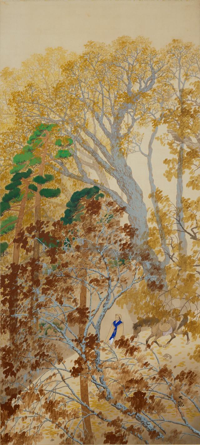 画像: 「山路」 1912年、横山大観、京都国立近代美術館蔵東京展:5月8日~5月27日 京都展:6月8日~7月1日