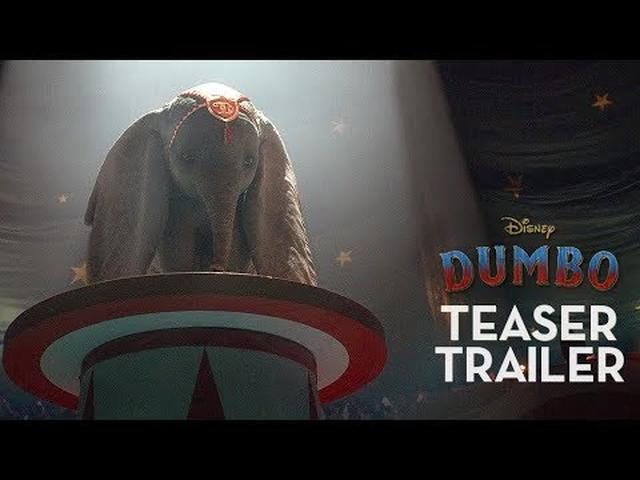 画像: Dumbo Official Teaser Trailer youtu.be