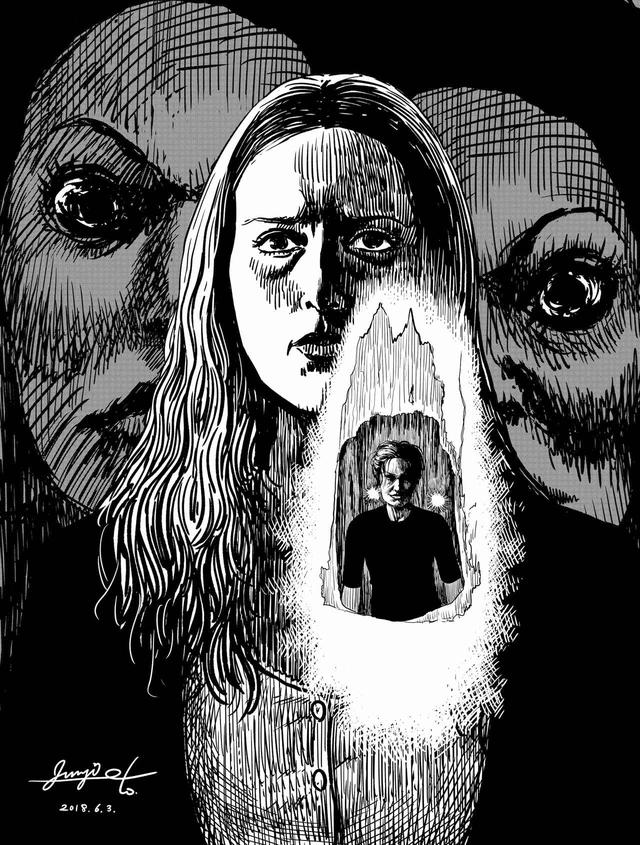 画像: ホラー漫画の巨匠・伊藤潤二氏描き下ろし -最恐イラスト&戦慄コメント到着!