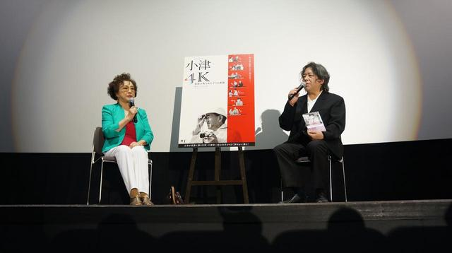 画像1: (左より)有馬稲子(女優)、樋口尚文(映画評論家・映画監督)