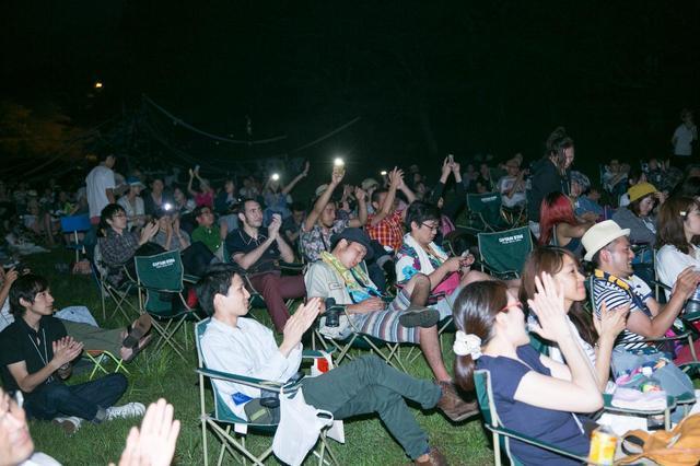 画像2: MOVIE×CAMP! 太陽の下でねそべり、星空のもとで映画を。