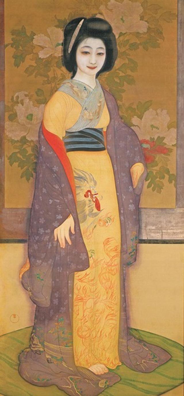 画像: 甲斐庄楠音《横櫛》大正5年(1916)頃 京都国立近代美術館蔵