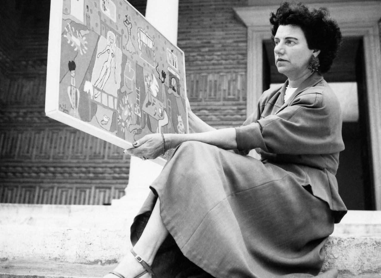"""画像: ©️""""Courtesy of the Peggy Gugggenheim Collection Archives, Venice""""."""