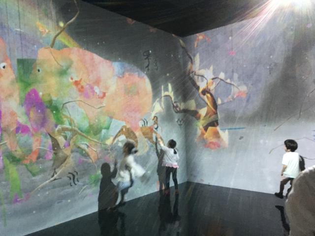 画像2: Sisyu + teamLab, 2013, Interactive Digital Installation, Calligraphy: Sisyu, Sound: Hideaki Takahashi photo©cinefil