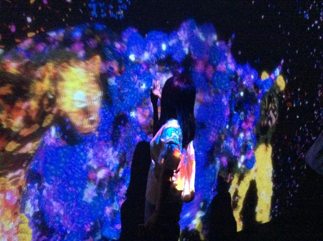 画像3: teamLab, 2017, Interactive Digital Installation, Sound: Hideaki Takahashi photo©cinefil