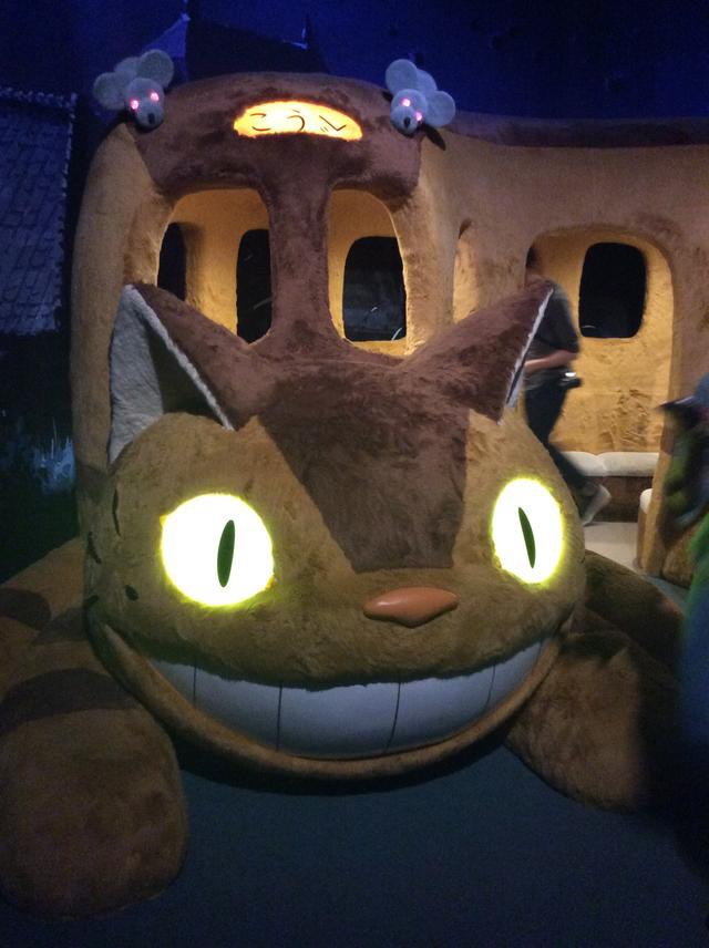 画像: ネコバス 「ジブリの大博覧会」兵庫県立美術館展 photo©︎cinefil