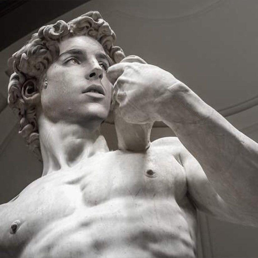 画像1: badly photoshopped timmyさんはInstagramを利用しています:「David, 1501-1504 by Michelangelo #timotheechalamet #chalametinart」 www.instagram.com