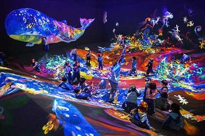 画像: チームラボ 学ぶ!未来の遊園地   あべのハルカス美術館