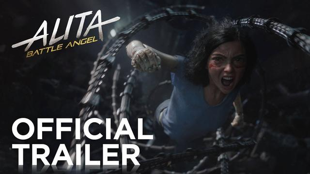 画像: Alita: Battle Angel | Official Trailer [HD] | 20th Century FOX youtu.be