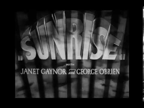 画像: AMANECER (SUNRISE) - Dir. F.W. Murnau - TRAILER youtu.be