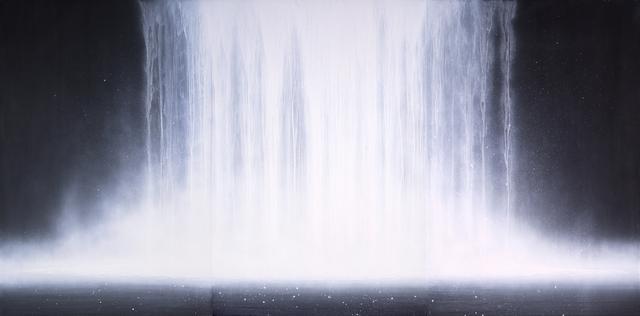 画像: 千住博《ウォーターフォール》1995(平成7)年 紙本・彩色 山種美術館