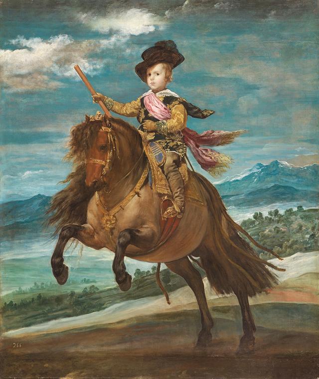 画像: ディエゴ・ベラスケス《王太子バルタサール・カルロス騎馬像》 1635 年頃 マドリード、プラド美術館蔵 © Museo Nacional del Prado