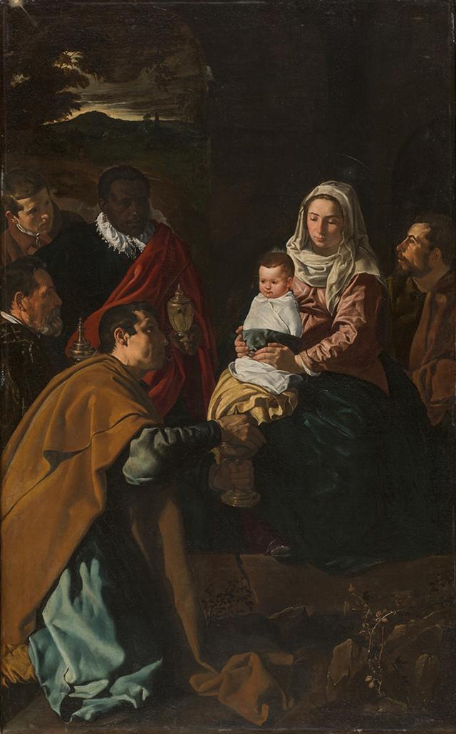 画像: ディエゴ・ベラスケス《東方三博士の礼拝》 1619 年 マドリード、プラド美術館蔵 © Museo Nacional del Prado
