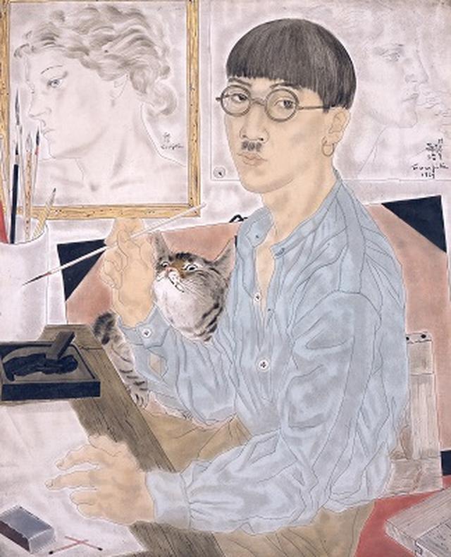 画像: 藤田嗣治 《自画像》 1929年 油彩・カンヴァス 東京国立近代美術館蔵 © Fondation Foujita / ADAGP, Paris & JASPAR, Tokyo, 2017 E2833