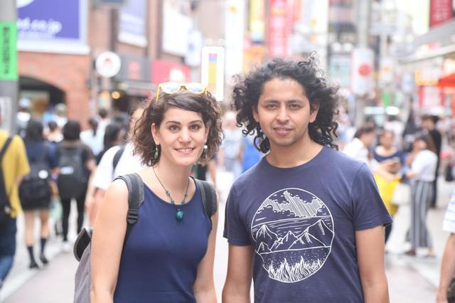 画像: ドロッチャ・ズルボー(写真左)、アルム・バッタライ(写真右)