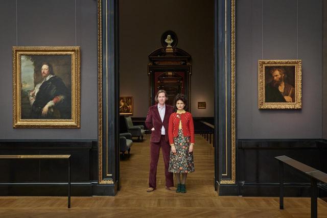 画像: ウェス・アンダーソン監督とジューマン・マルーフ © KHM-Museumsverband