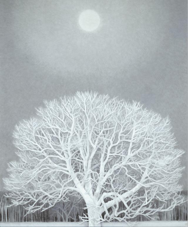 画像: 《冬華》東山魁夷 1964年 額装、紙本彩色  203.0×163.5cm 東京国立近代美術館蔵