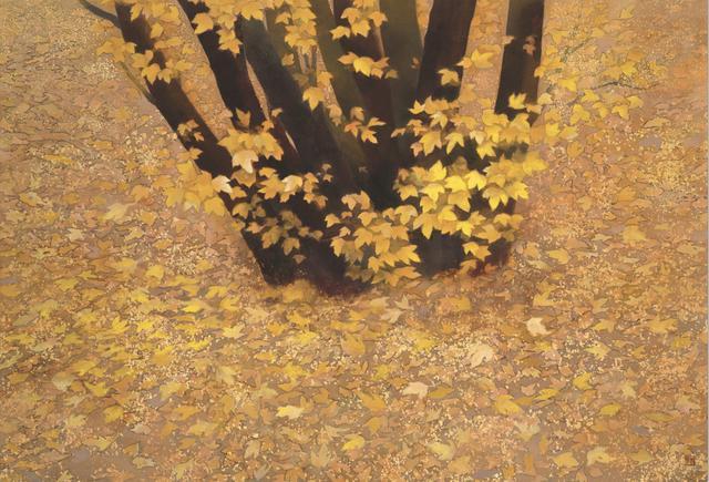 画像: 《行く秋》東山魁夷 1990年 額装、紙本彩色 114.0×162.0cm 長野県信濃美術館 東山魁夷館蔵