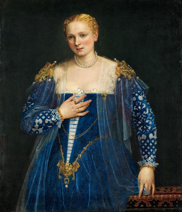 画像: 《女性の肖像》、通称《美しきナーニ 》 ヴェロネーゼ(本名パオロ・カリアーリ)1560年頃 Photo © RMN-Grand Palais (musée du Louvre) / Michel Urtado /distributed by AMF-DNPartcom