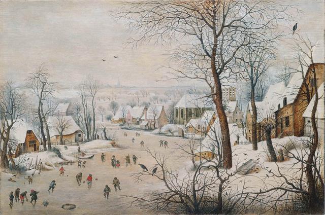 画像: ピーテル・ブリューゲル2世 《鳥罠》 1601年  Private Collection, Luxembourg