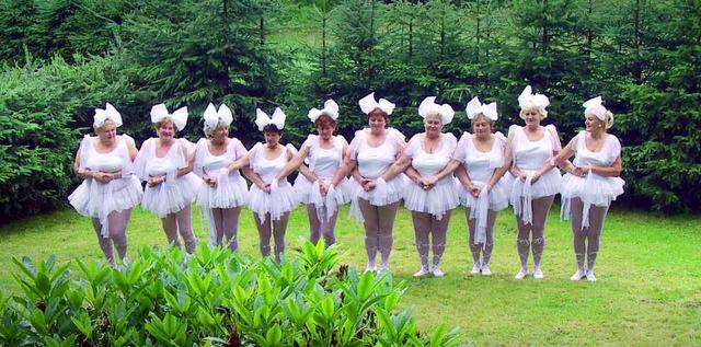 """画像2: 「白鳥の湖を踊りたい!」チェコの田舎村に住むおばちゃんたちは動き出した! 愛おしい""""スワン・ダンス""""を巡るドキュメンタリー『チェコ・スワン』"""