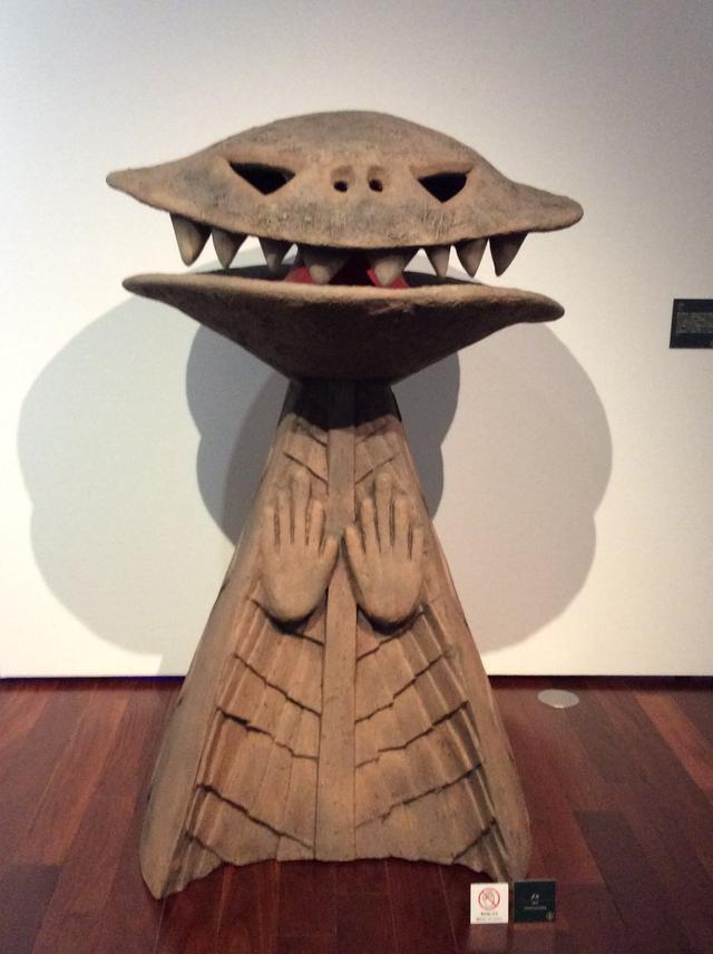 画像: ゾーン Ⅴ  太陽の塔への道《ノン》 1970年  FRP 川崎市岡本太郎美術館 photo©︎cinefil