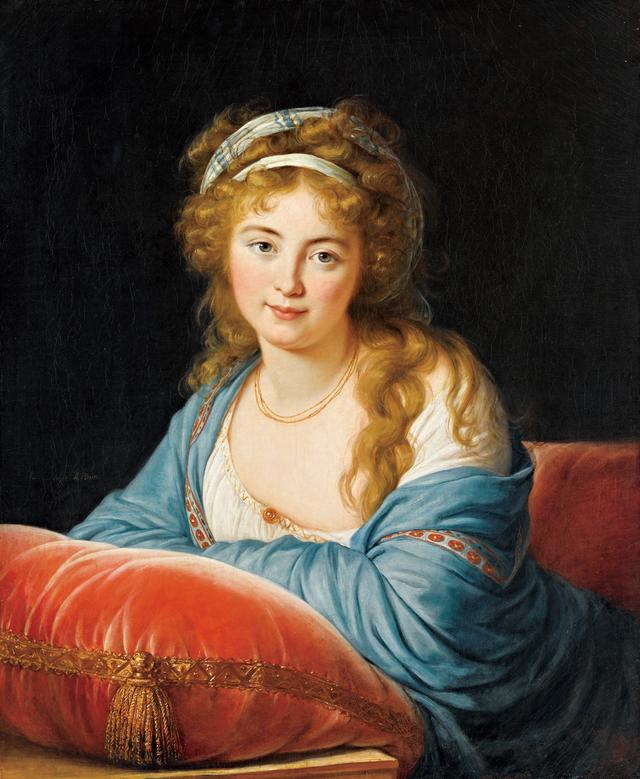 画像: 《エカチェリーナ・ヴァシリエヴナ・スカヴロンスキー伯爵夫人の肖像》 エリザベート・ルイーズ・ヴィジェ・ル・ブラン 1796年 Photo © RMN-Grand Palais (musée du Louvre) / Michel Urtado /distributed by AMF-DNPartcom