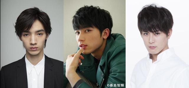 画像: さらに、 主人公・初に恋する3人の男性陣には映画界で最注目の若手俳優が集結!