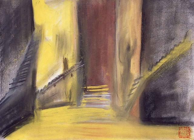 画像: 『ZIPANG』より「回廊」(1989年)
