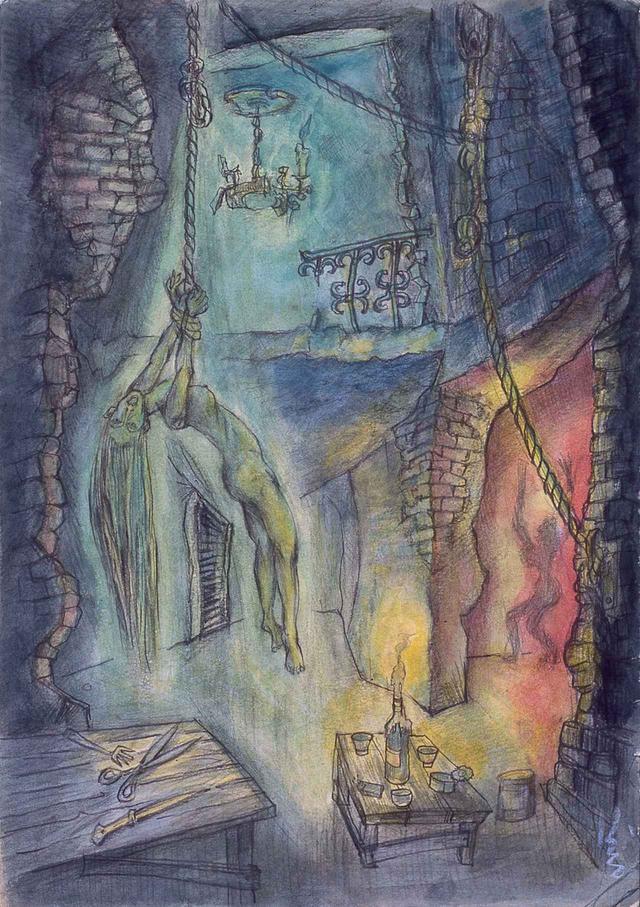画像: 『肉体の門』より「リンチの場」(1972年頃)