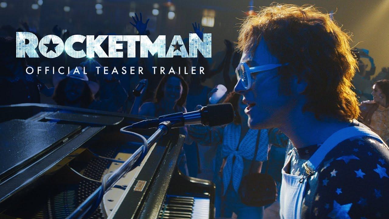 画像: Rocketman (2019) - Official Teaser Trailer - Paramount Pictures youtu.be