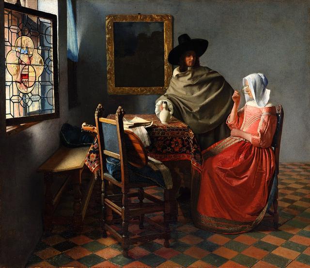 画像: ヨハネス・フェルメール《ワイングラス》1661-1662年頃 ベルリン国立美術館 © Staatliche Museen zu Berlin, Gemäldegalerie / Jörg P. Anders