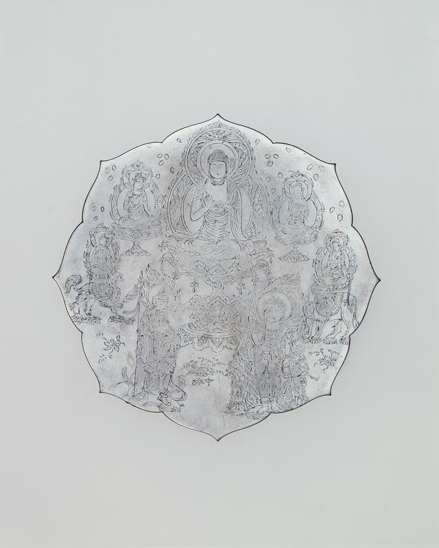 画像: 国宝 線刻仏諸尊鏡像 平安時代 泉屋博古館所蔵