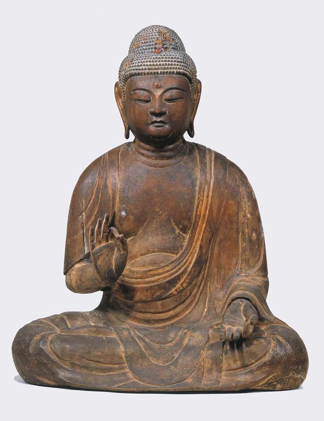 画像: 重要文化財 木彫阿弥陀如来坐像 大治 5年銘 平安時代 (1130)  泉屋博古館所蔵