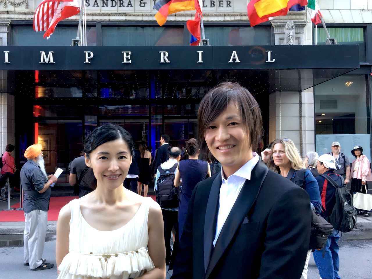 画像: 女優の広澤草と曽根剛監督