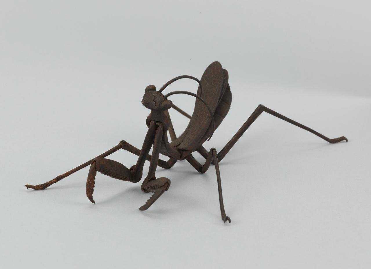 画像: 《自在蟷螂置物》 江戸時代・18〜19世紀 東京・大倉集古館所蔵