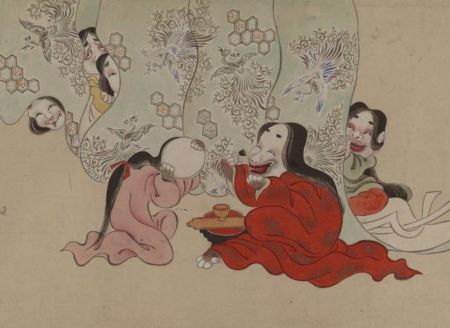 画像: [英一蝶] [妖怪絵巻](部分) 国際日本文化研究センター蔵 《1期》