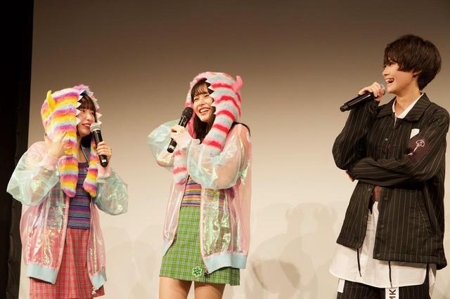 画像2: (写真左下)左から:吉田凜音、久間田琳加、中山咲月