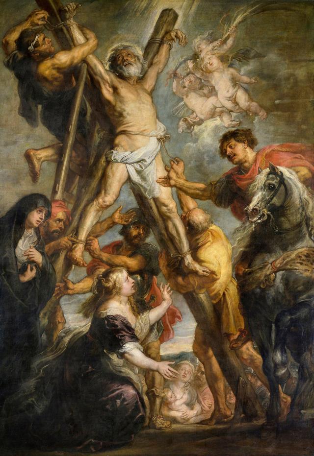 画像: 《聖アンデレの殉教》 ペーテル・パウル・ルーベンス 1638-39 年 油彩/カンヴァス マドリード、カルロス・デ・アンベレス財団 Fundación Carlos de Amberes, Madrid