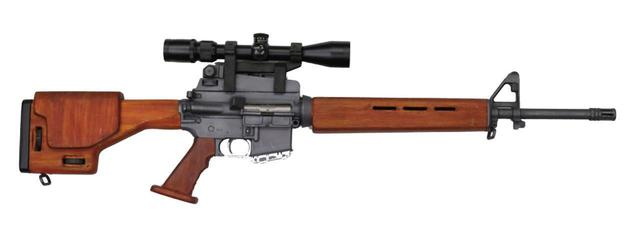 画像: M16 フルスクラッチ(さいとう・ プロダクション「武器庫」より)