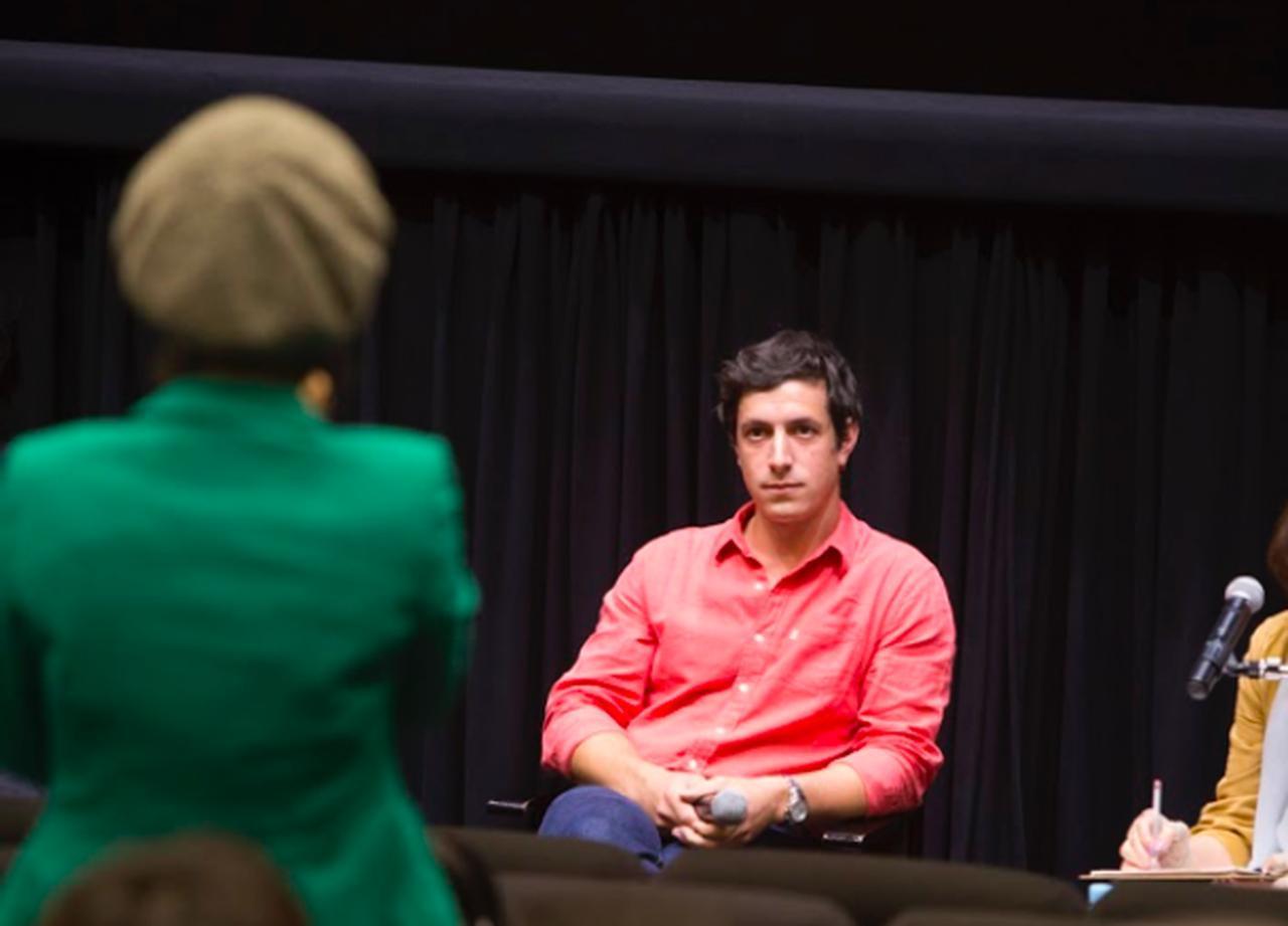 画像: 来場者からの質問に答えるクレマン・シュナイダー監督