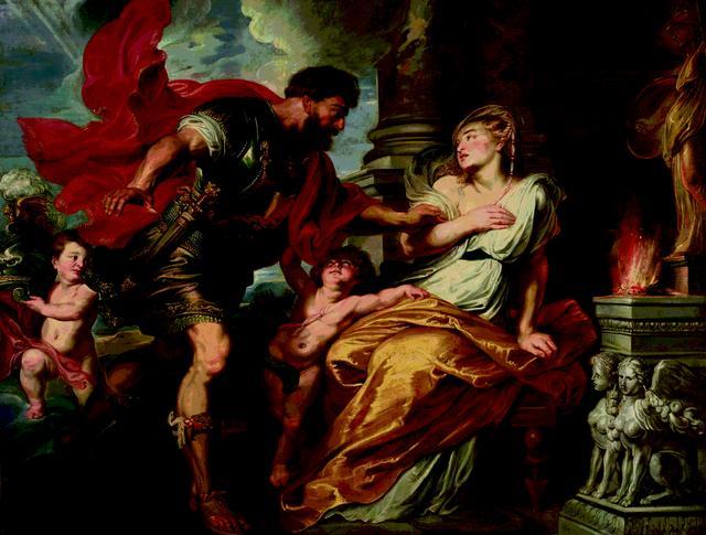 画像: 《マルスとレア・シルウィア》 ペーテル・パウル・ルーベンス 1616-17年 油彩/カンヴァス ファドゥーツ/ウィーン、リヒテンシュタイン侯爵家コレクション ©LIECHTENSTEIN. The Princely Collections, Vaduz-Vienna