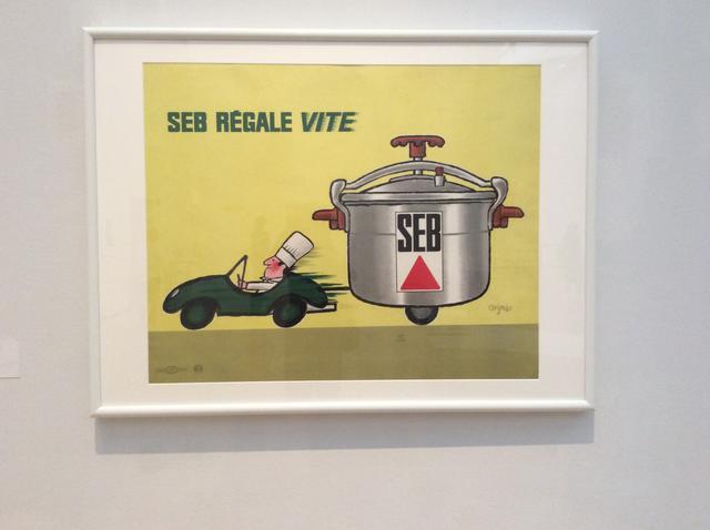 画像: 《セブの圧力鍋ならおいしい料理を素早く》1966年 ポスター(リトグラフ、紙 )パリ市フォルネー図書館蔵 photo©︎cinefil