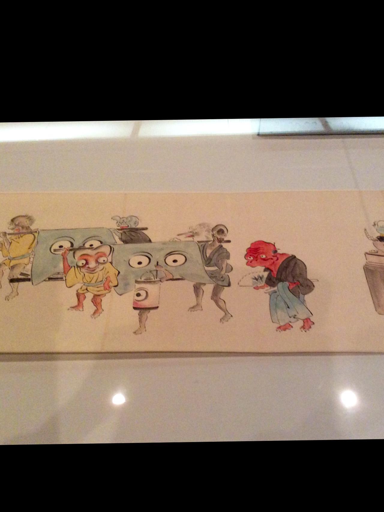 画像: 狢穴住 「化物婚礼絵巻」 肉筆・巻子本  国際日本文化研究センター蔵 《1期》《2期》《3期》《4期》 photo©︎cinefil