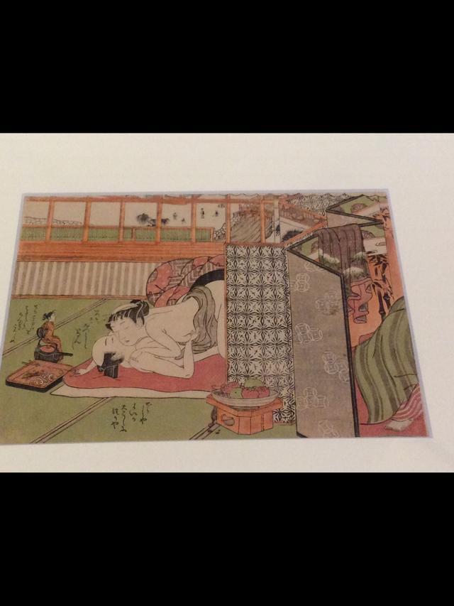画像: 磯田湖龍斎 「 俳諧女夫まねへもん」中判錦絵組物     国際日本文化研究センター蔵  《1期》《2期》 photo©︎cinefil