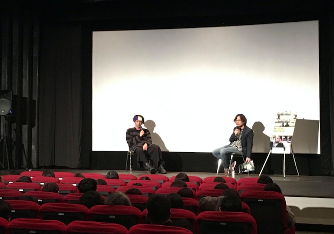 画像2: 左よりオダギリジョーさん、リム・カーワイ監督