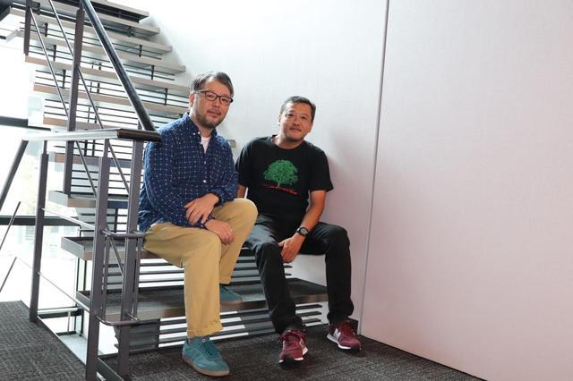 画像: 左より菊地健雄監督、川瀬陽太さん