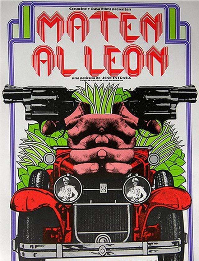 画像: 『ライオンを殺せ(スペイン語題:Maten al león)』オリジナル海外ポスター