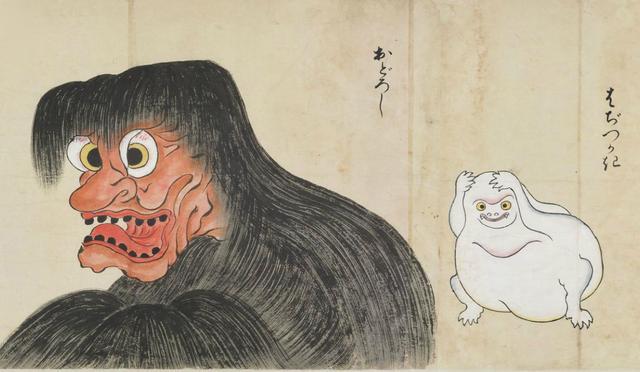 画像: 北斎季親 「化物尽絵巻」(部分) 国際日本文化研究センター蔵 《1期》《2期》《3期》《4期》