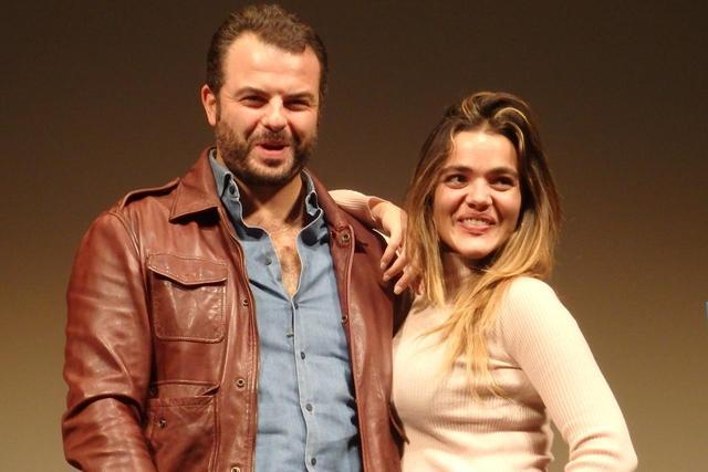 画像: 10/28の上映後、Q&Aに登壇した『堕ちた希望』のエドアルド・デ・アンジェリス監督と主演女優のピーナ・トゥルコ Photo by Yoko KIKKA